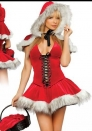 Fashion Naughty Santa Girl Costume Sexy Christmas Costumes Winter Fantasy Costume
