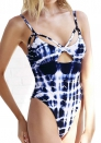 Polyester Print Natural Color One Pieces