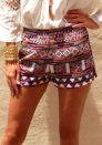 Casual Low Print Shorts