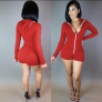 Red Active Fashion Rayon Activewear