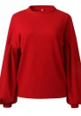 Women's Winter Casual Loose Flare Sleeve Sweater