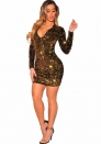 Slim sequined dress Sexy Nightwear
