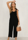 Women's casual strap loose jumpsuit