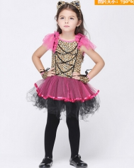 Pink Polyester Kids Costumes