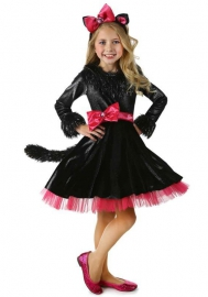 Black Polyester Kids Costumes