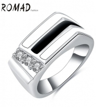 Fashion Elegant Synthetic CZ Women Rings