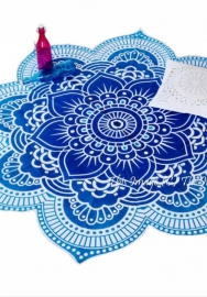 Polyester Beach Towl Throw Yoga Mat Table Cover Tapestry Picnic