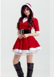 Halloween/Christmas (Not Stocking)Christmas Costume