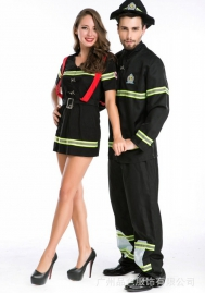 Halloween/Christmas Female firefighters uniforms