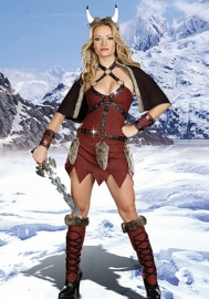 Halloween/Christmas Female warrior clothing