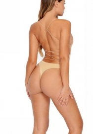 Women's Sexy Backless Lingerie Bodysuit