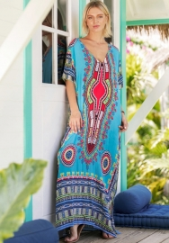 African Print Dashiki Dress For Women