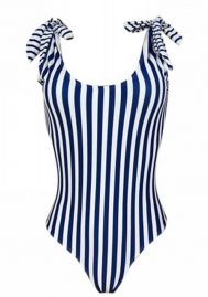 Women High Neck Print Swimwear Women One Piece Monokini Swimsuits