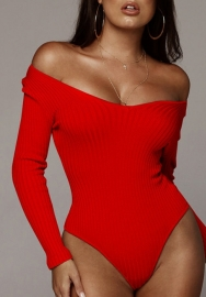 Women's Basic Long Sleeve Stretchy Bodysuit Leotard Tops