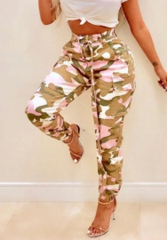 Womens Camo Trousers Casual Pants Military Camouflage Pants