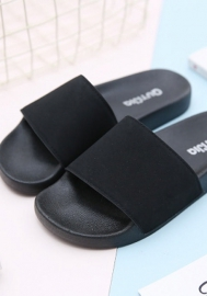 Women's Slippers Open Toe Indoor Outdoor Casual Flat Slide Sandals