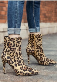 Women's Lace up Chunky Heel Ankle Bootie